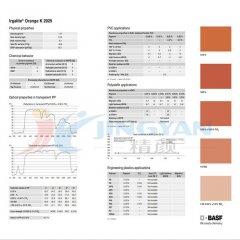 巴斯夫Basf艷佳麗Irgalite橙K2925有機顏料汽巴F2G色粉PO.34橙
