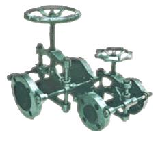 GJX型支架式管夾閥