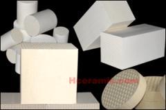 微波蜂窩陶瓷干燥定型樣品