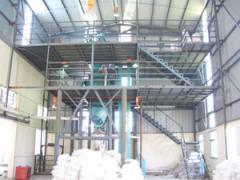 半自动干粉砂浆生产线