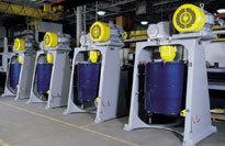 湿法研磨Attritors: 生产型设备