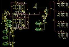 樹脂生產裝置典型顆粒輸送、摻混、儲存、包裝單元 的圖片