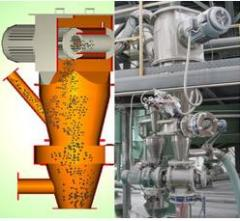 气流分级设备卧式涡轮分级机的图片