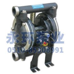 气动隔膜泵PP工程塑料QGB-15-20型