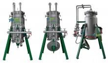 微孔氣動直排式過濾器(機)