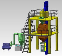 AJ-C基本型干混砂浆生产线