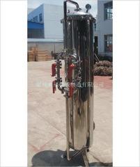 3噸/小時不銹鋼活性炭過濾器