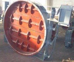 BDTW-0.5S百葉式自動雙路氣流調節閥