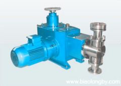 JZ12.5 耐高压柱塞式泵