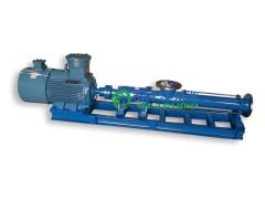 螺桿泵:G型不銹鋼防爆變頻單螺桿泵的圖片