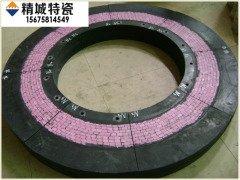 立磨磨輥密封環陶瓷橡膠復合密封磨輥密封