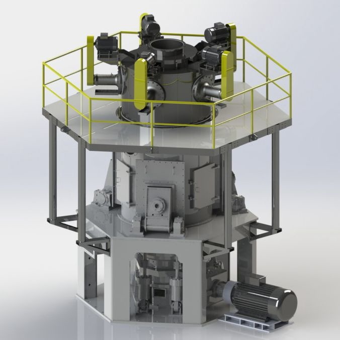 VSLM-1100H 超细立磨的图片