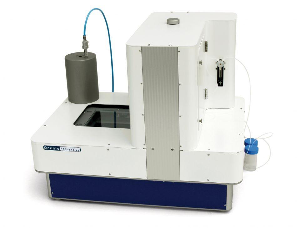 500NanoXY 型靜態干法和濕法粒度粒形分析儀的圖片