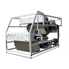 中科雙層履帶式礦石色選機 DKS1280-B 高粉塵下礦石分選方案 帶出比低
