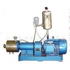 单级管线式高剪切乳化机