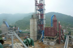 水泥生产线的图片