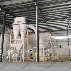 HC大型擺式磨粉機HC1500雷蒙磨粉機80-325目礦石磨粉機的圖片